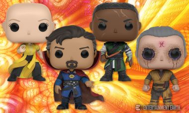 Open Doctor Strange Pop! Vinyls and Change Reality