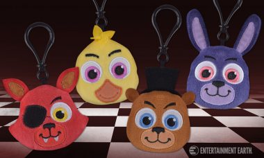 Funko Five Nights at Freddy's Plush Keychains Turn Animatronic Killers Cute