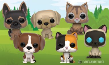 Pop! Pets Vinyl Figures to Benefit the ASPCA