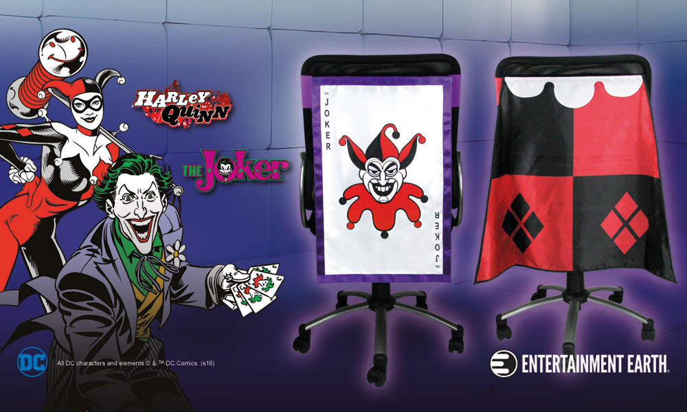 Joker Harley Quinn Chair Capes