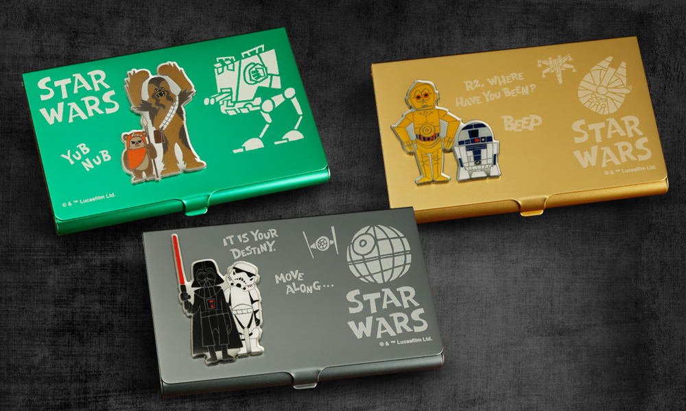 Star Wars Business Card Holders Add A Dash Of Geek Flare
