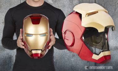Step Aside Cap: The Iron Man Prop Replica Helmet is Here