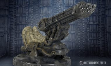 Alien Fossilized Space Jockey Replica is Out of This World