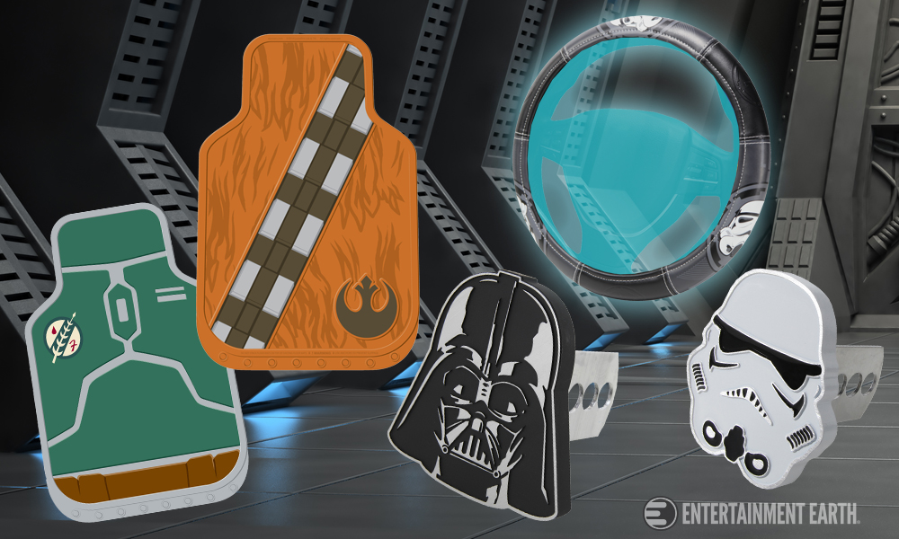 Plasticolor Star Wars Car Accessories
