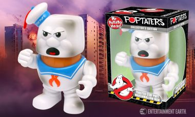 Roast Potatoes and Marshmallows at the Same Time with Toasted Stay Puft Mr. Potato Head
