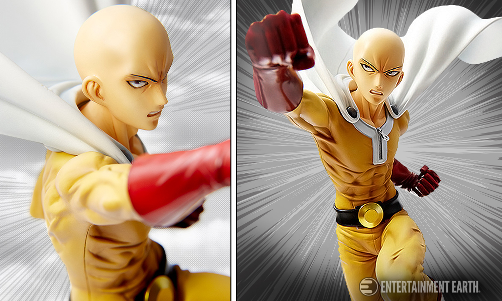 One-Punch Man 1:6 Scale Statue is Ready for a Fight
