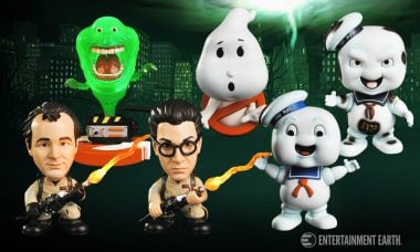 Light 'Em Up with New Ghostbusters Bobble Heads
