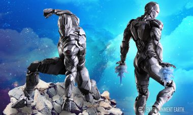 Iron Man Sports a Sleek Silver Look As This Play Arts Kai Figure