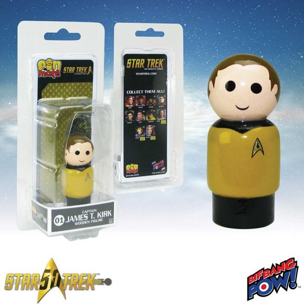 Star Trek Kirk Pin Mate 2