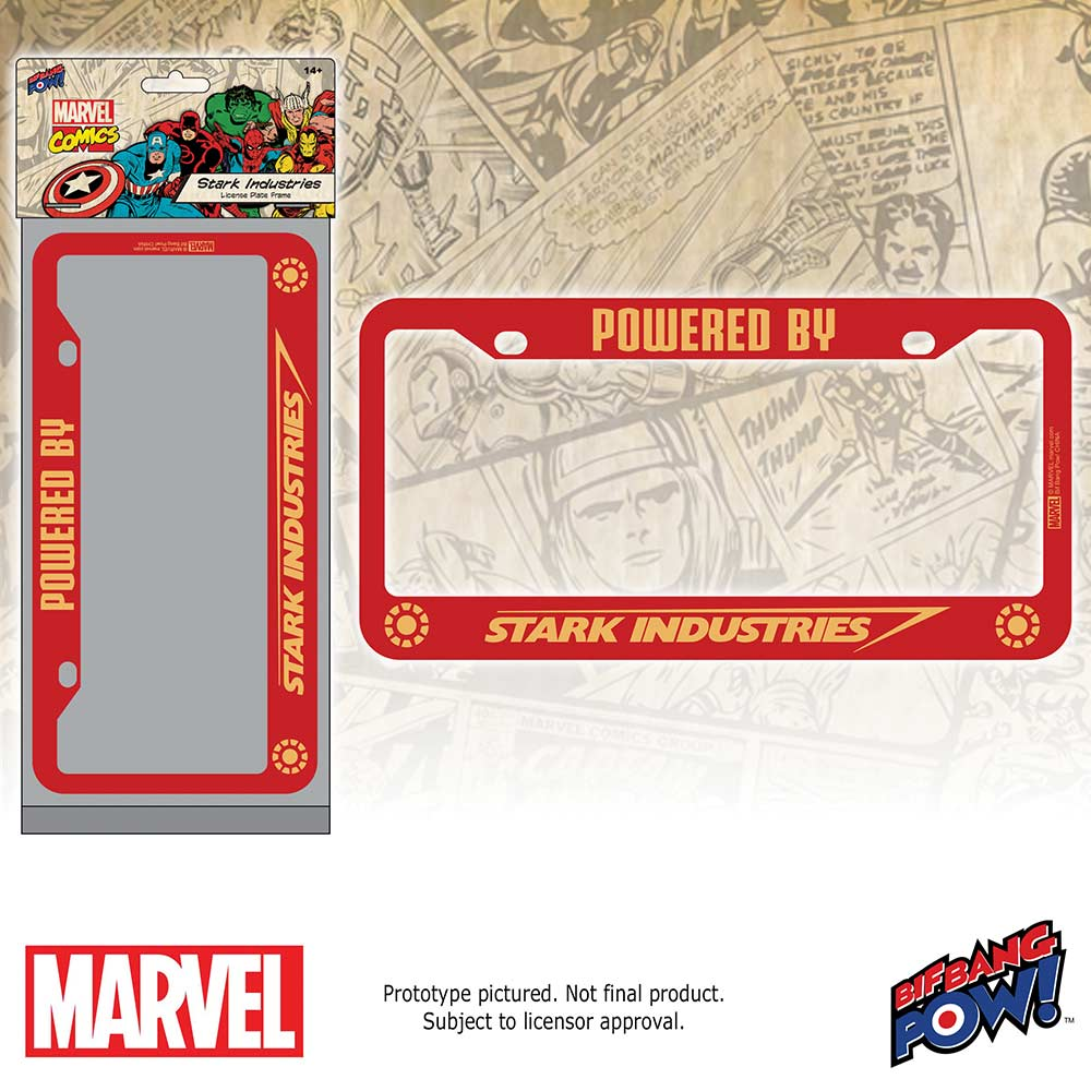 Marvel Avengers License Plate Frames - In Stock for the Holidays
