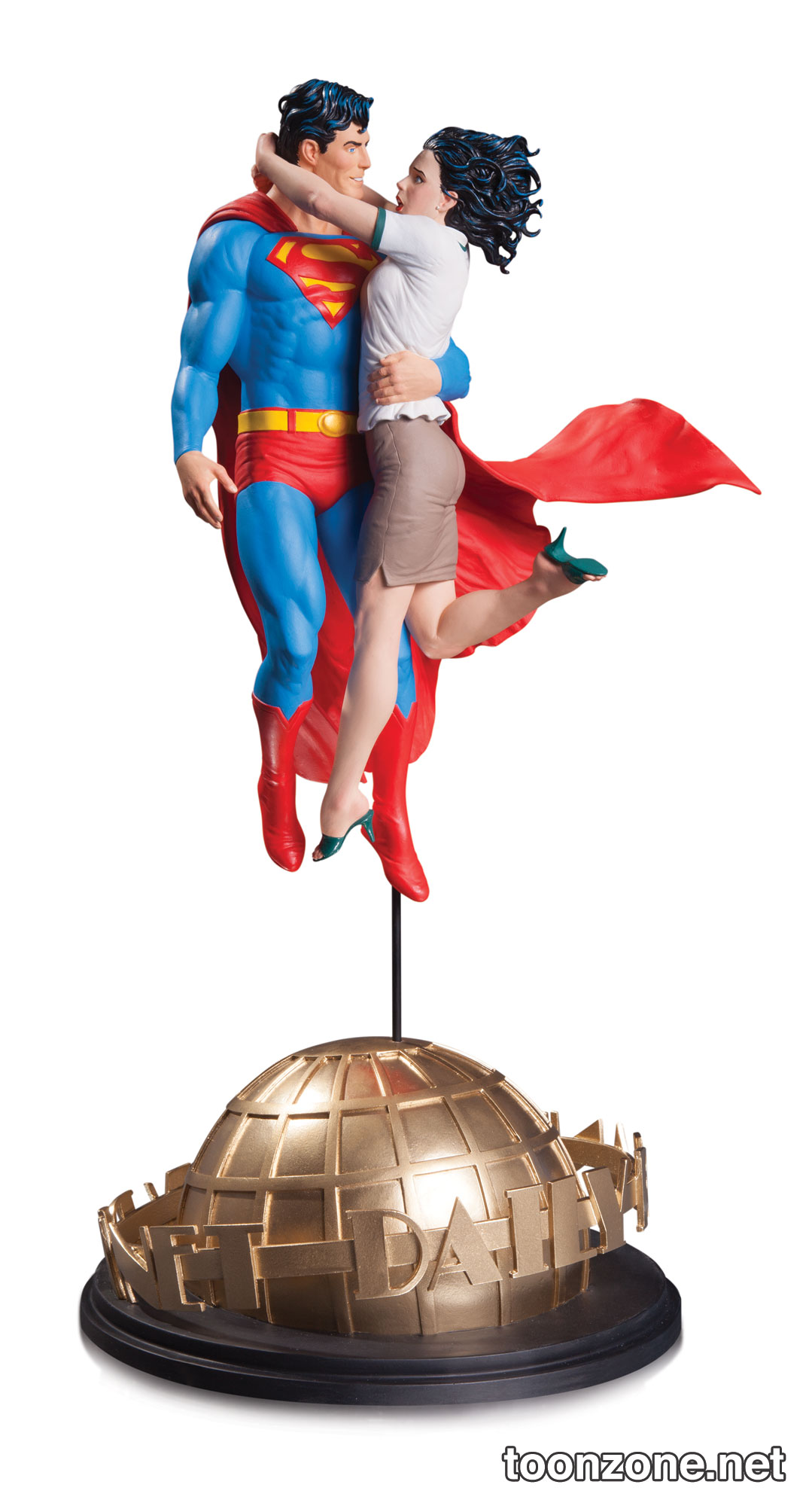 Superman and Lois Lane Statue