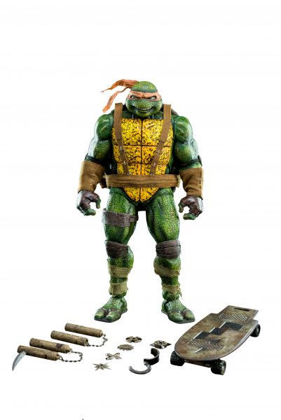 TMNT Michelangelo Eastman 1:6 Scale Action Figure - 1