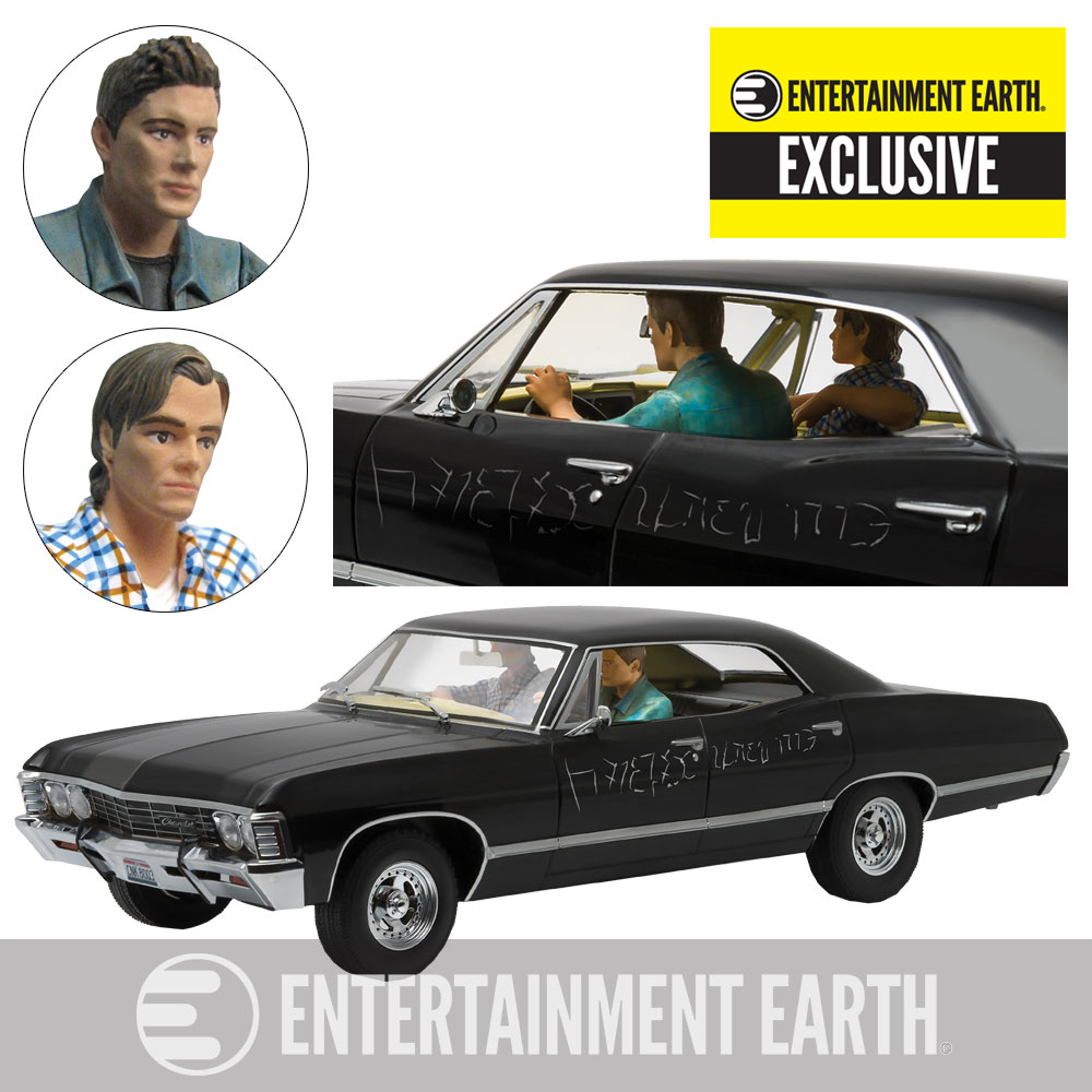 Entertainment Earth - Greenlight Exclusive Supernatural Impala