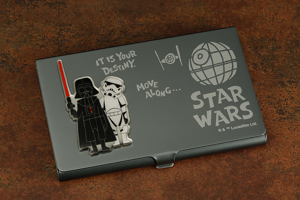 Star wars business card holders add a dash of geek flare pre order star wars darth vader and stormtrooper business card holder colourmoves