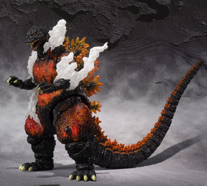Godzilla Ultimate Burning Version SH MonsterArts Action Figure