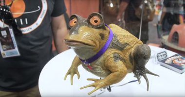 Fan Made Friday: This Real Life Hypnotoad Sees All