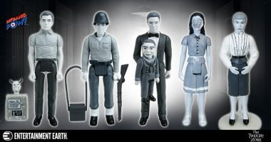 Wildly Popular The Twilight Zone Series 4 Action Figures Now in Black & White!