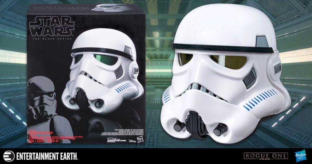 This Stormtrooper Voice Changer Helmet Prop Replica Rules