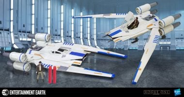 Bring the Fight to the Empire with the Rogue One U-Wing Fighter