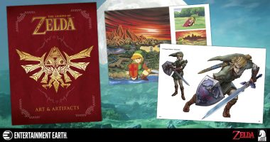 The Art of Zelda Showcased in New Book by Dark Horse