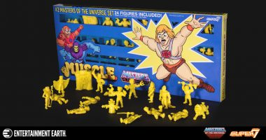 Flex Your M.U.S.C.L.E. with He-Man!