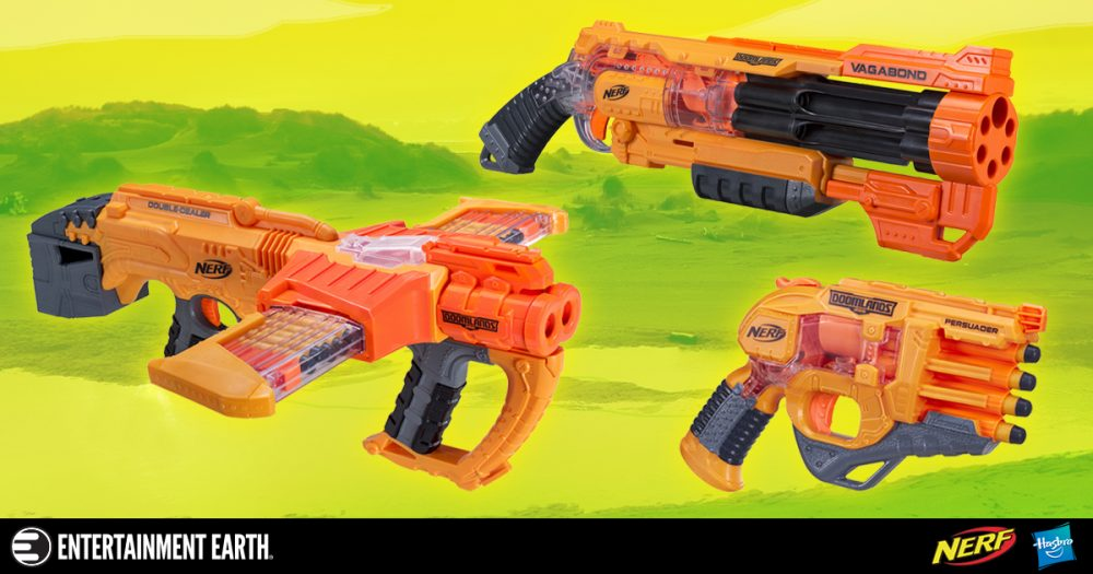 Protect Yourself with New Nerf Doomlands Blasters