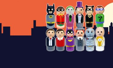Take a Trip to GOTHAM CITY™ with New BATMAN™ Pin Mate™ Figures