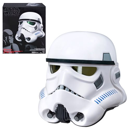 Star Wars The Black Series Rogue One Imperial Stormtrooper Electronic Voice-Changer Helmet Prop Replica