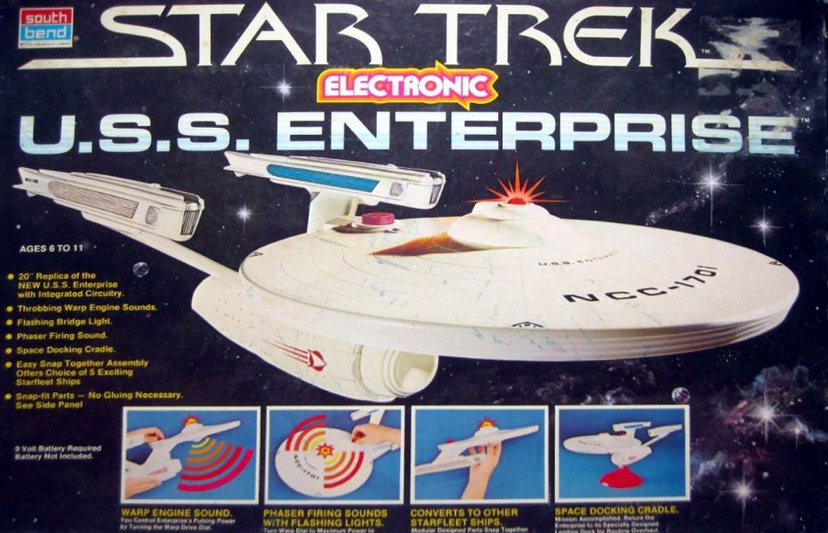 To Boldly Play: A Warp-Speed History of Star Trek Toys (Part 2)