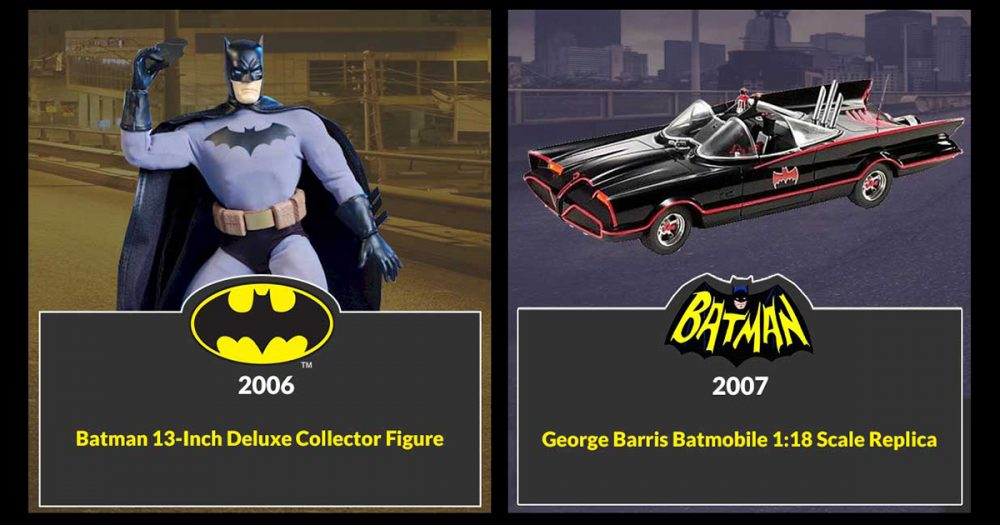 Batman Toys for 2006 and 2007