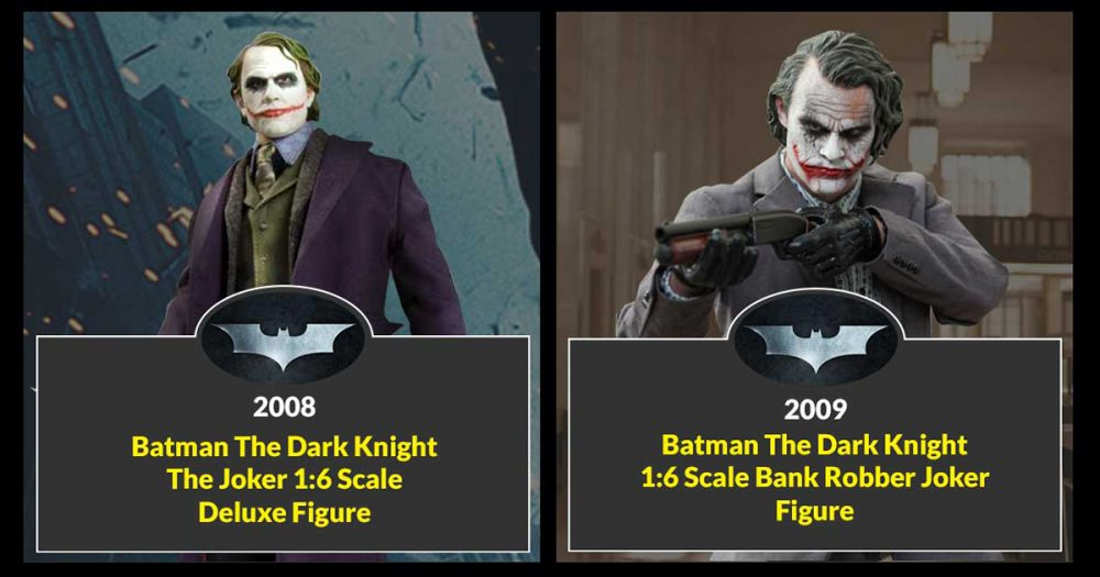 2008 and 2009 Batman Day Toys