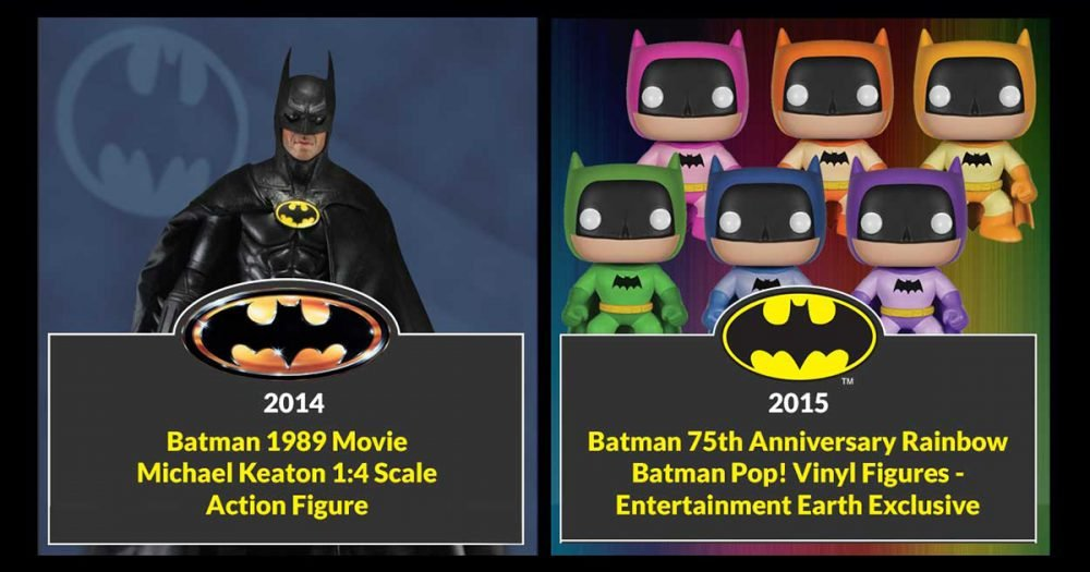 Batman Toys and Collectibles 2014 2015