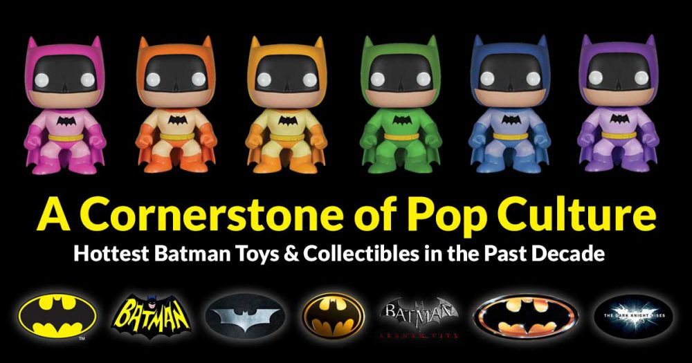 Top Batman Toys and Collectibles for Batman Day