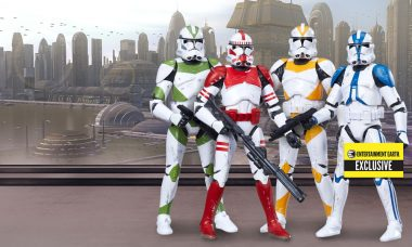 Entertainment Earth Exclusive: Star Wars The Black Series Order 66 Clone Troopers