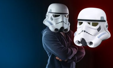 This Stormtrooper Voice-Changer Helmet Prop Replica Rules!