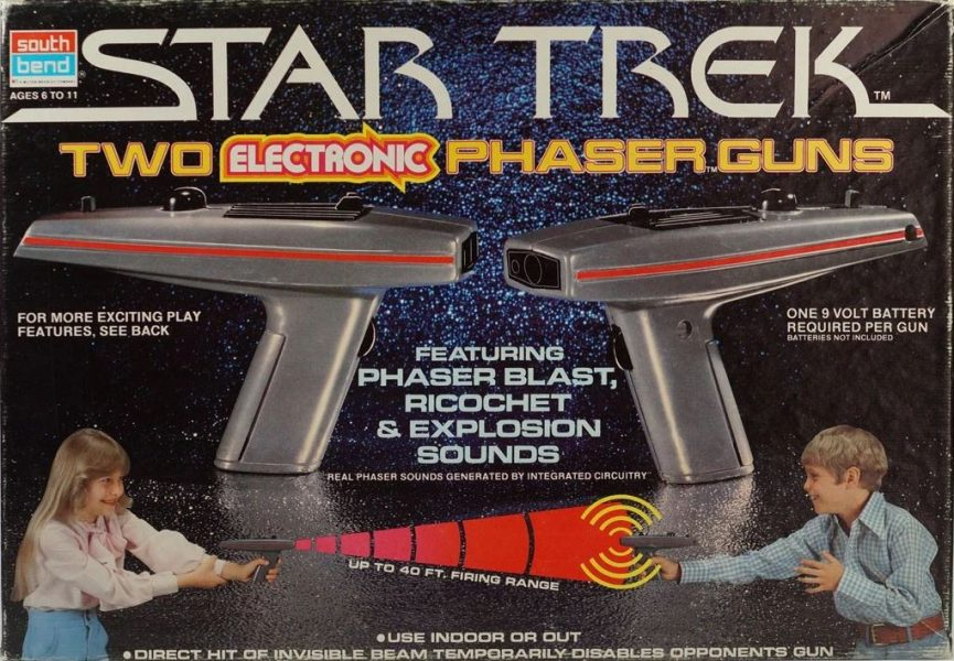 To Boldly Play A Warp Speed History Of Star Trek Toys