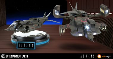 You Won't Have a Bad Feeling About This Magnetic Levitating Dropship