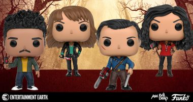 Battle the Deadite Horde with Ash vs. Evil Dead Pop! Vinyl Figures