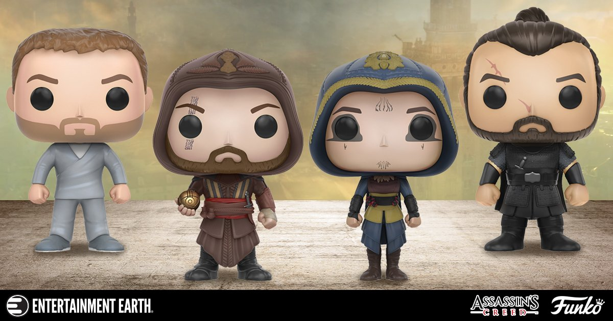 Adorable and Deadly: Assassin's Creed Movie Funko Pop! Vinyls Michael Fassbender News