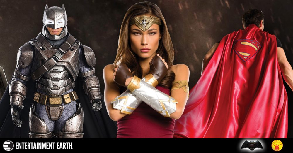 Batman v. Superman: Dawn of Justice Halloween Costumes