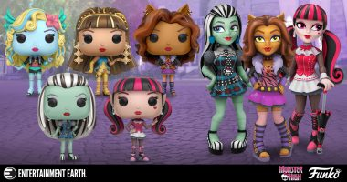 Ghouls Rule with These New Monster High Funko Figures