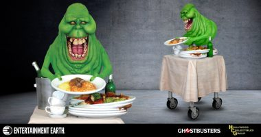 Slimer Pigs Out in New Hollywood Collectibles 1:4 Scale Statue