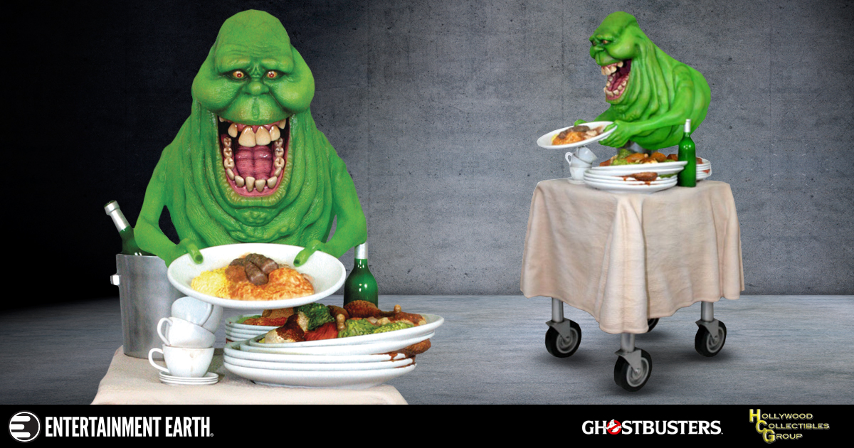 Ghostbusters Slimer Statue