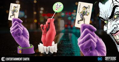 Harley and the Joker Lend a Hand in This Nifty Set of Statues