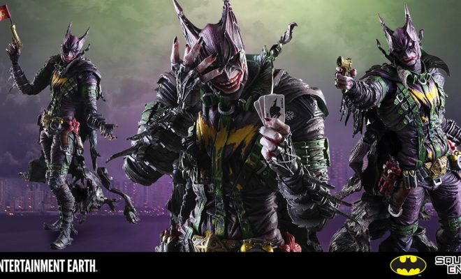 The Joker Dons The Famous Cowl And Cape In New Kai Variant