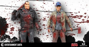 Take Home Negan and Glenn with This Comic-Con 2016 Exclusive Action Figure 2-Pack