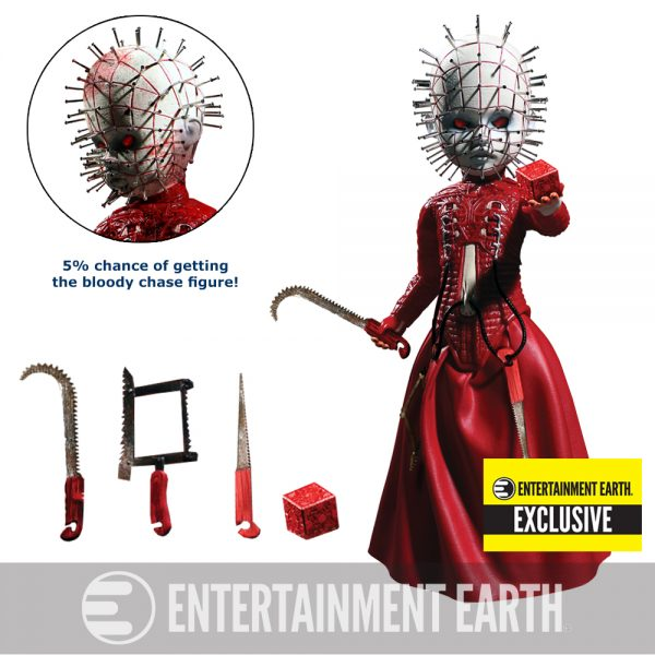 Hellraiser Pinhead Red Variant - Entertainment Earth Exclusive