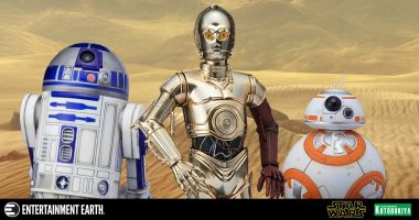 These Are the Kotobukiya ArtFX+ Droids You're Looking for