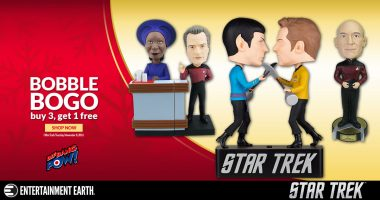 Holiday Gift Guide: 8 Star Trek Bobbles for Your Favorite Trekkie