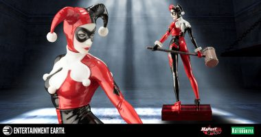 Harley Quinn Is a Vision in New ArtFX+ Statue